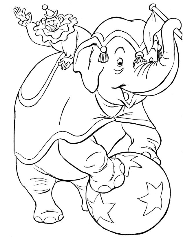 circus coloring pages for kids | 151 best images about circus on Pinterest | Wb, Circus ...