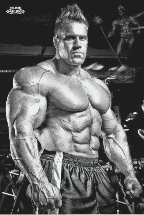I'm not going to take steroids, but my goal is to be