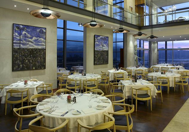 The Restaurant at Waterkloof. Photo courtesy of the restaurant.