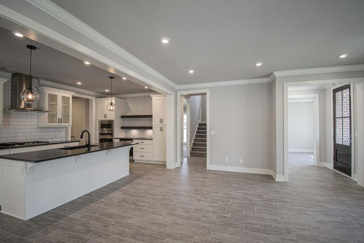 Pinot Great Rooms Leather Granite New Homes