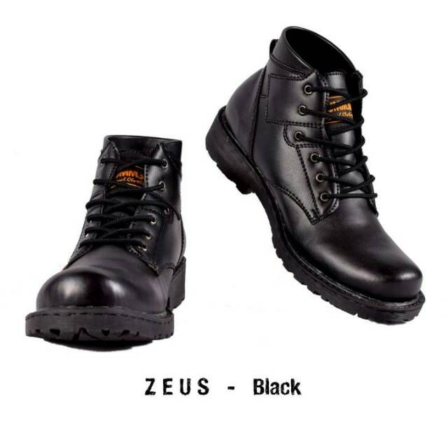 Hummer Zeus Original Sepatu Boot Pria Model Sepatu Boot Pria