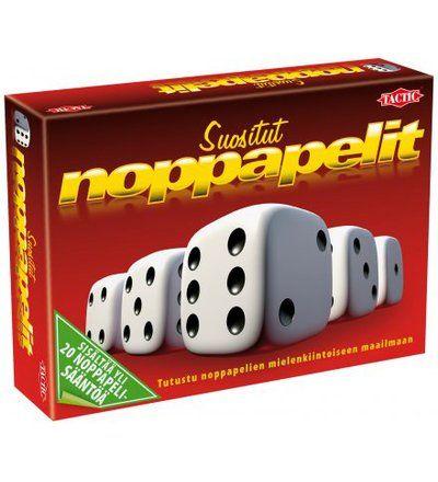 Tactic+Suositut+Noppapelit+pelisetti+|+Karkkainen.com+verkkokauppa
