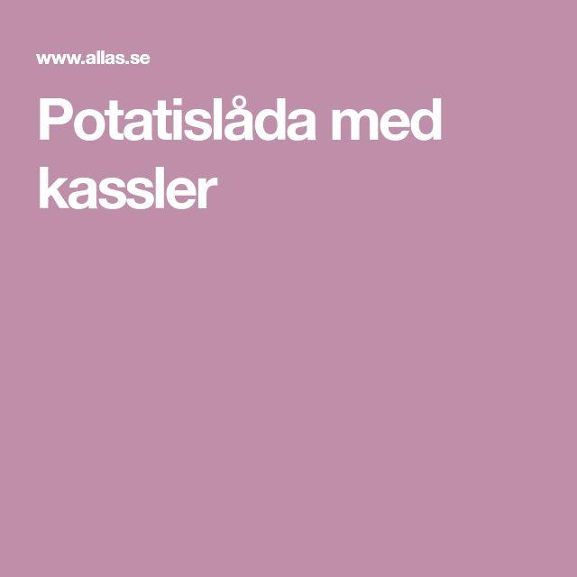 Potatislåda med kassler
