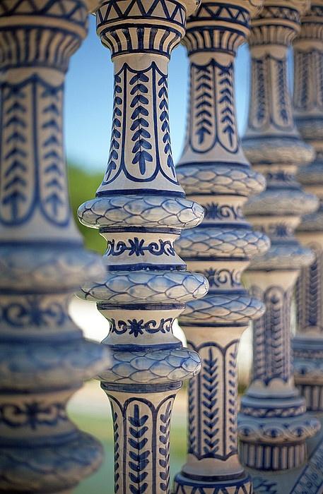 Ceramic fence, Plaza de España, Seville, Spain