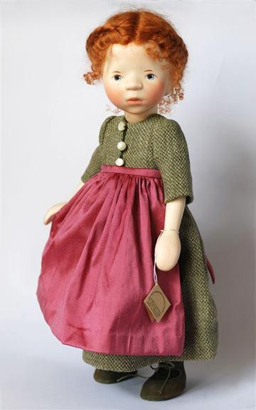 Wool Dress With Apron 2011 H311 thetoyshoppe.com