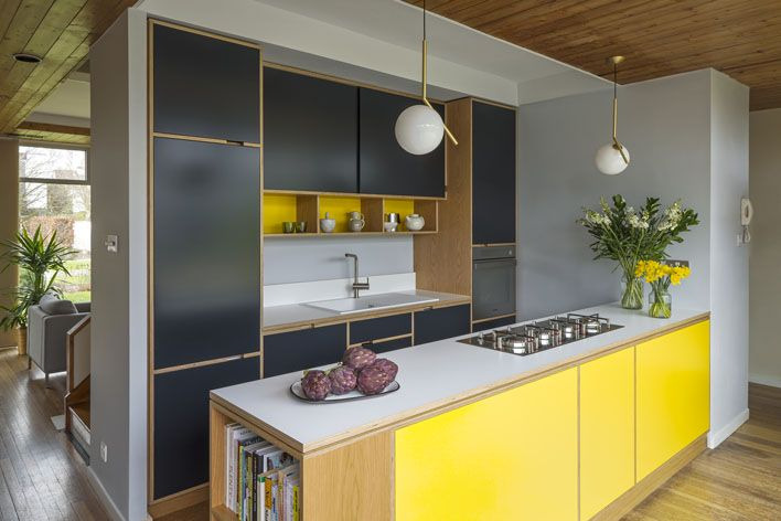 Marvelous Shepperton Kitchen by Unmon Projects Interior Pinterest Kitchens Plywood kitchen and Plywood
