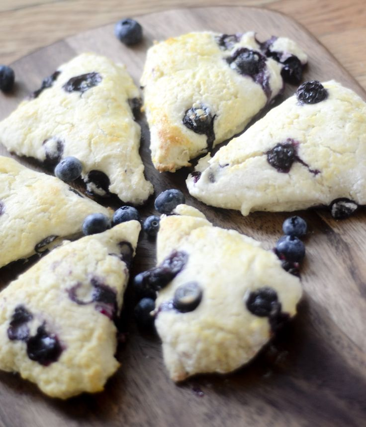 Weight Watcher's Blueberry Scones - 3p+