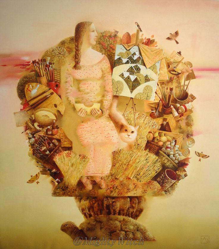 Artist's Planet by Anna Berezovskaya.