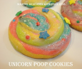 Making Memories ... One Fun Thing After Another: Unicorn Poop Cookies