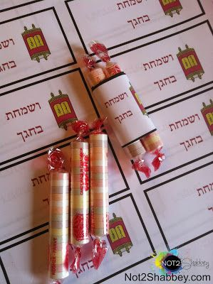 Not 2 Shabbey: Sukkot - Simchat Torah Edible Crafts