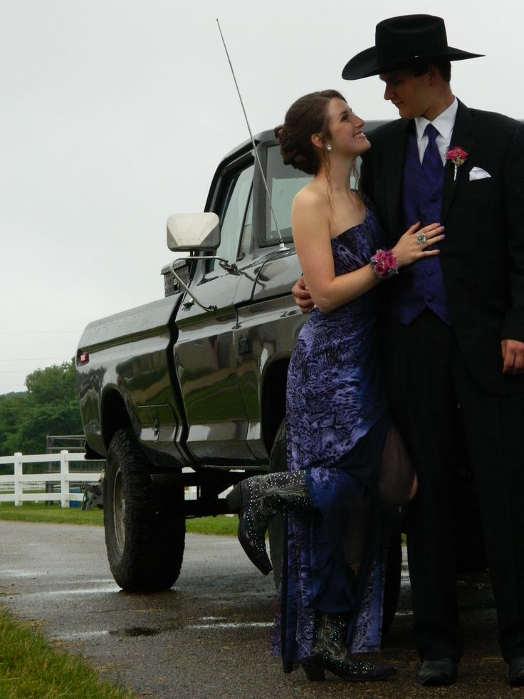 #prom #country Here's a romantic, country prom look.