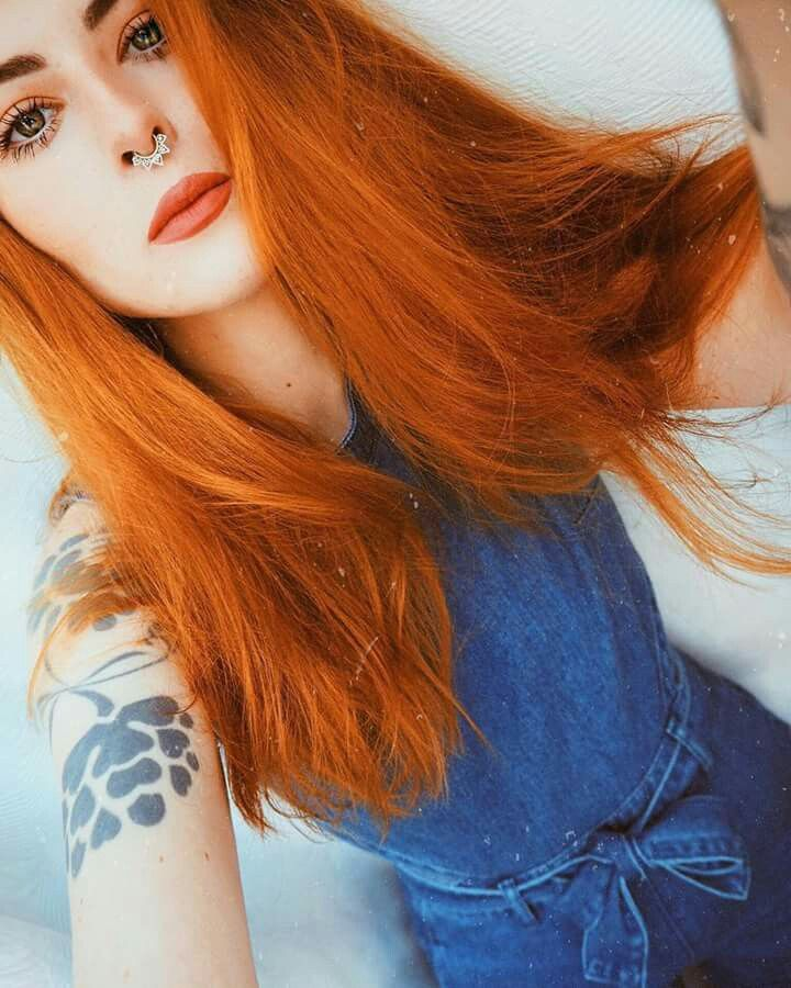 Arctic Fox Always Love This Beautiful Natural Ginger Tone Created With Sunset Orange Try Adding A Few Arctic Fox Hair Color Arctic Fox Hair Dye Fox Hair Dye