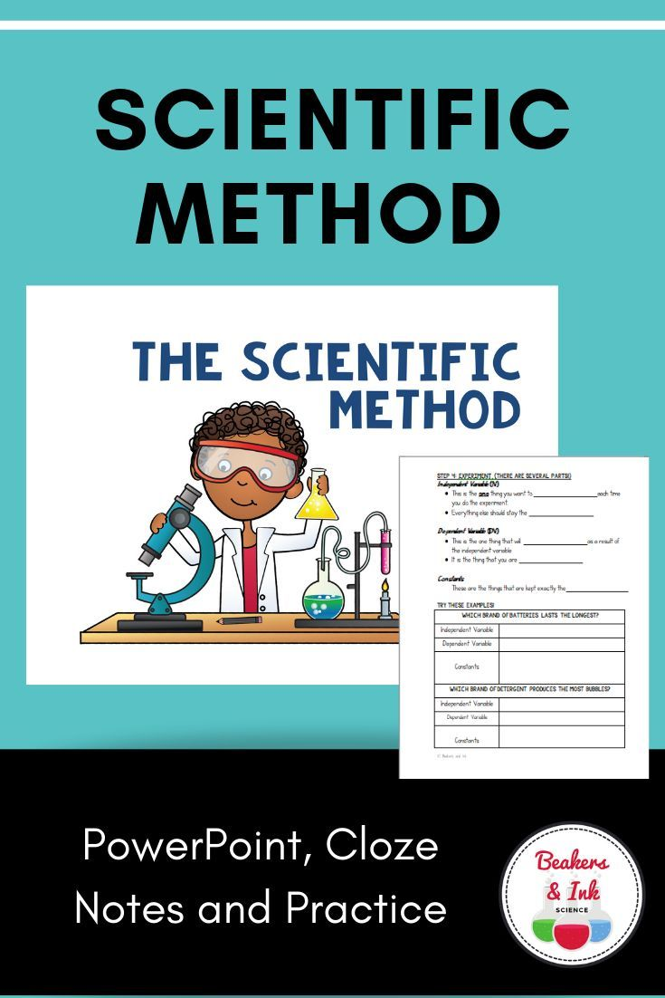 Scientific Method Powerpoint Notes And Practice Scientific Method Scientific Method Worksheet Interactive Science Notebook