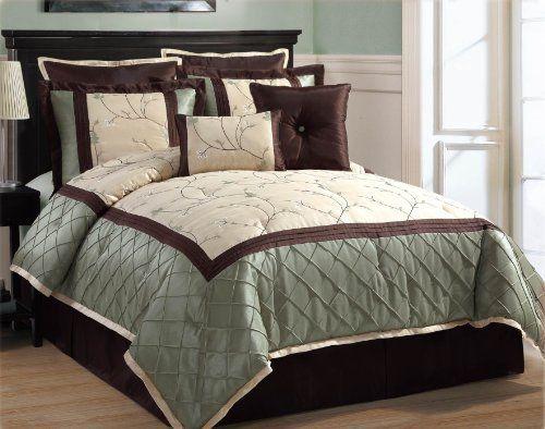 Victoria Classics Alexandria 8-Piece Queen Comforter Set