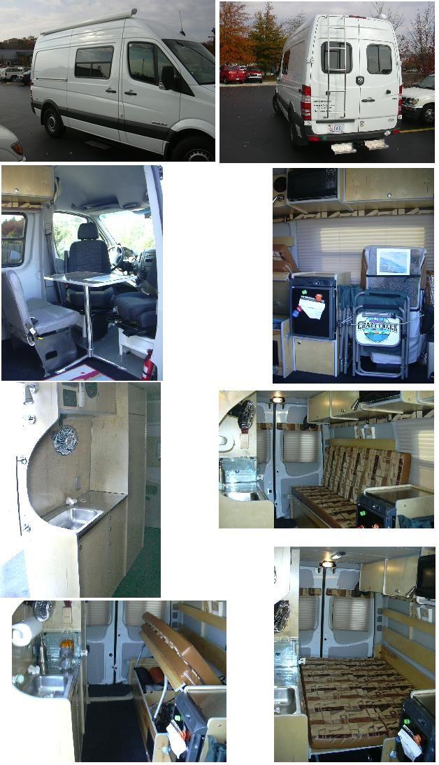"""Sprinter Van Expediter Custom Camper Vans"""
