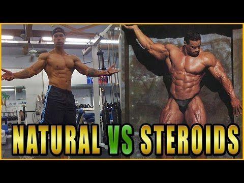 Best Video 2015 - Steroid Bodybuilding VS Natural Bodybuilder : Monster Gym - YouTube