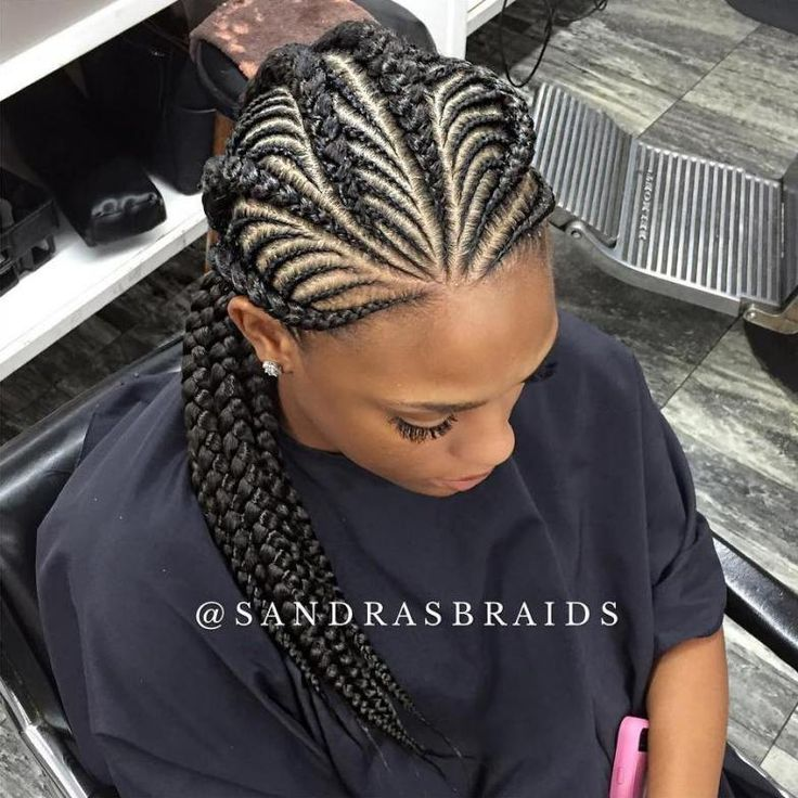 Wondrous 1000 Ideas About Black Braided Hairstyles On Pinterest Black Hairstyle Inspiration Daily Dogsangcom