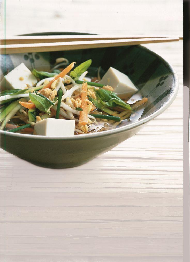 zuppa di tofu e verdure 🙆🍲🍵🌱🎎🎌🎐