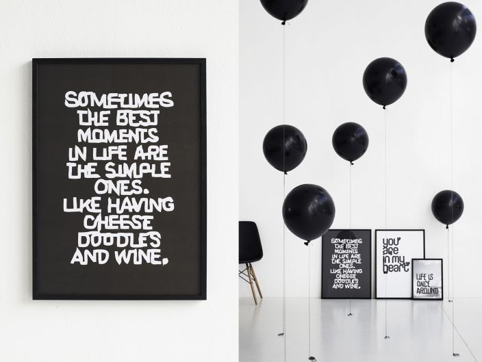 Sometimes the best moments in life are the simple ones. Like having cheese doodles and wine.