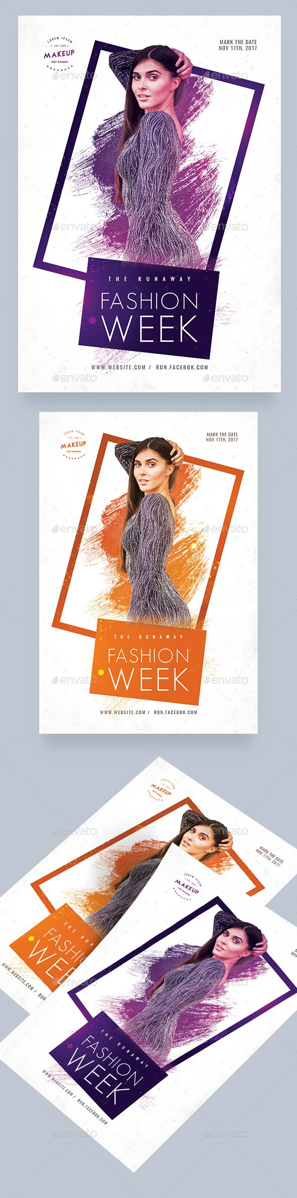 #Fashion Week #Flyer - Events Flyers