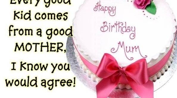 Beautiful birthday wishes for mom