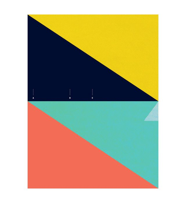North coast surfer and illustrator Matthew Korbel-Bowers has created these beautiful abstract minimal secret surf posters