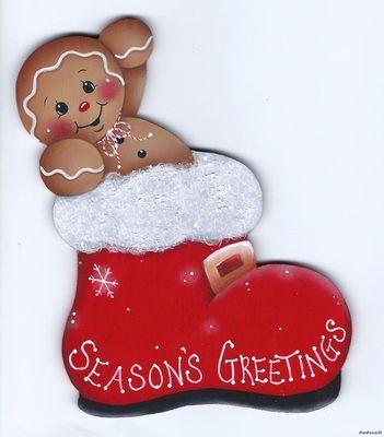 Christmas ginger magnet