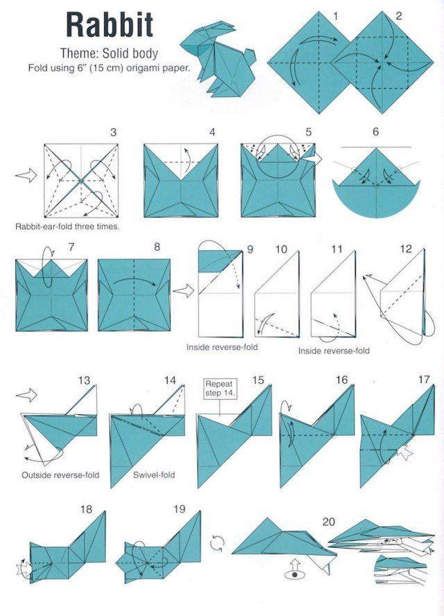 25 origami animaux en papier plié qui vous enchanteront