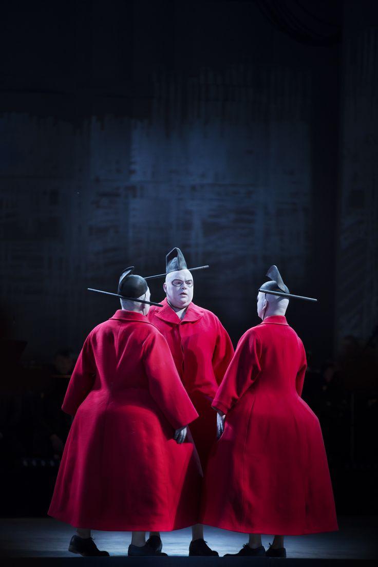 Ping, Pang & Pong Turandot, Dalhalla Opera 2015