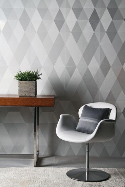 Diamond pattern in gray palette. Carol Van Zandt http://pinterest.com/carolvanzandt/
