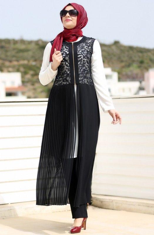 2016 Tunik Modelleri ve Tesettüre Uygun Tasarımlar