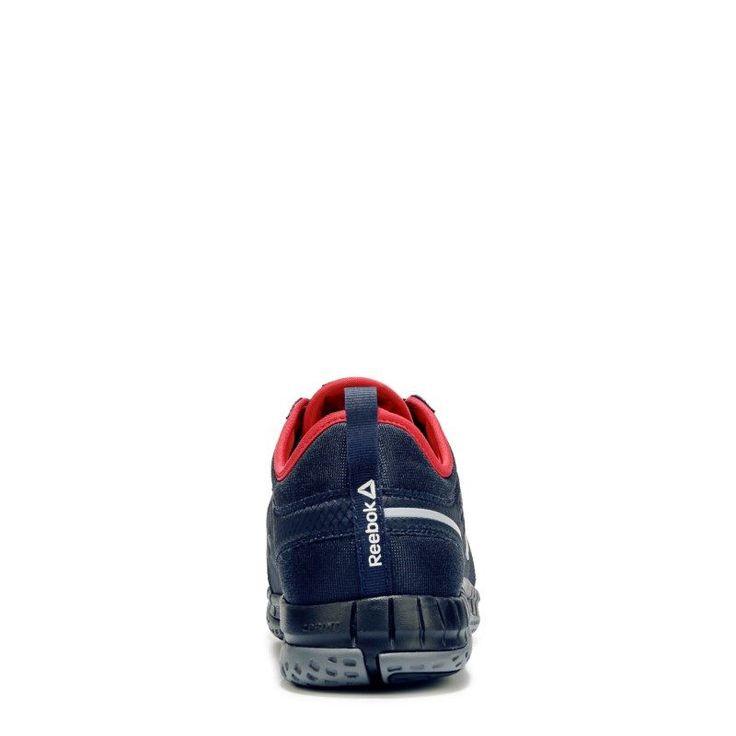 Reebok Work Men's Z Print 3D Medium/Wide Steel Toe Work Sneakers (Navy)