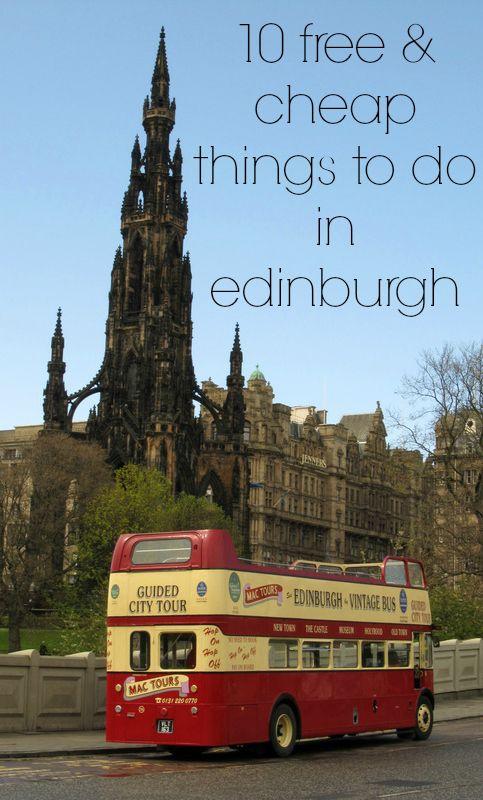 Free & Cheap Edinburgh Attractions