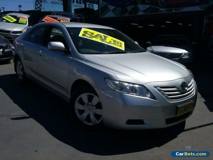 2008 Toyota Camry ACV40R 07 Upgrade Altise Silver Automatic 5sp A Sedan #toyota #camry #forsale #australia