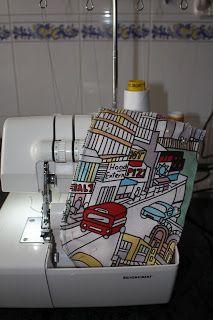 Vamos a hacer otro modelo de bolsa ecológica, esta vez la tela es una loneta, con lo cual le voy a dejar sólo una capa de tela. Va a ser ...