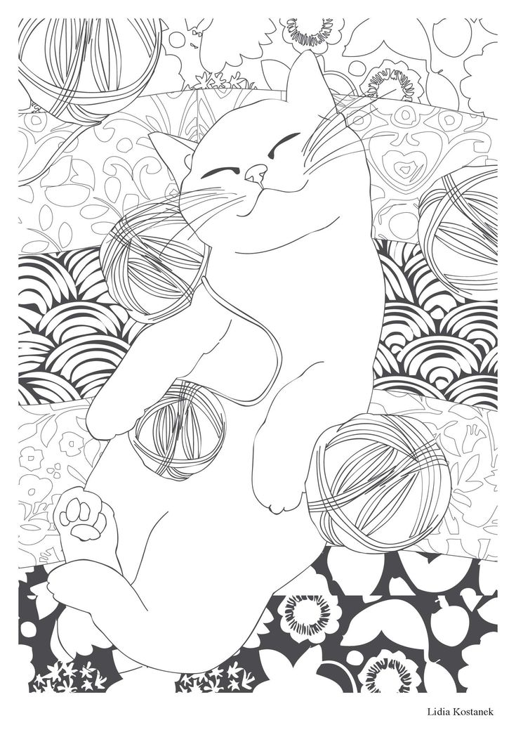 Amazon.fr - Chat thérapie: 100 coloriages anti-stress - Collectif - Livres