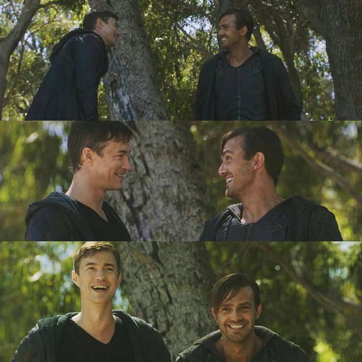 D2 BTS Apparently Tom Wisdom and Carl Beukes kept flubbing their lines.