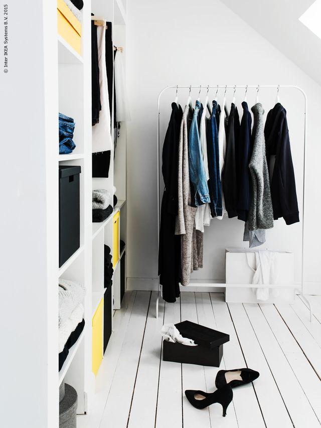 IKEAに売られているMulig洋服ラックがシンプルで安くて、お部屋おしゃれになると話題!