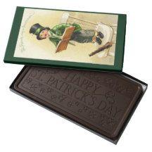 St. Patrick Was A Gentleman Kids Giant Candy Bar Dark Chocolate Bar