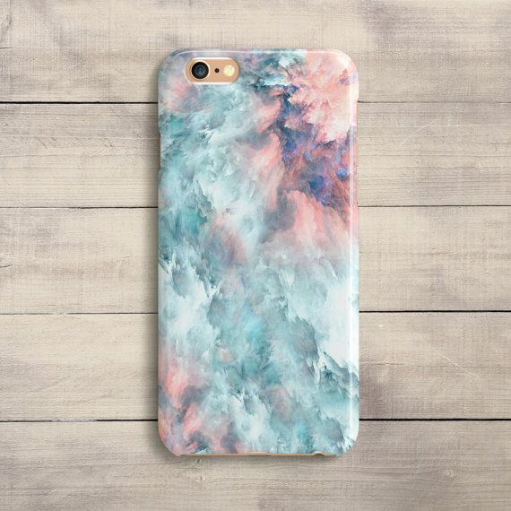 iPhoneCaseUA on Esty  Pink Pastel Marble Case iPhone 7 Plus iPhone SE iPhone 6S iPhone 6 Plus iPhone 5 5S 5C Galaxy S5 S6 S6 S7 Edge Samsung Note 4 Blue Case