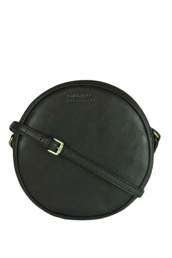 Köp Luna Bag Eco Black rund handväska från O My Bag online eller i butiken på Södermalm, Stockholm, Sverige.