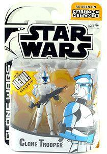 2005 Star Wars Clone Wars Blue Trooper Season III 3 Cartoon Network Animated | eBay