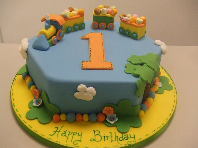 St Birthday Cake Images For Boy