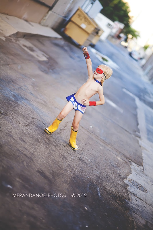 superhero hero birthday photography.  One day I am taking this picture of Miles!