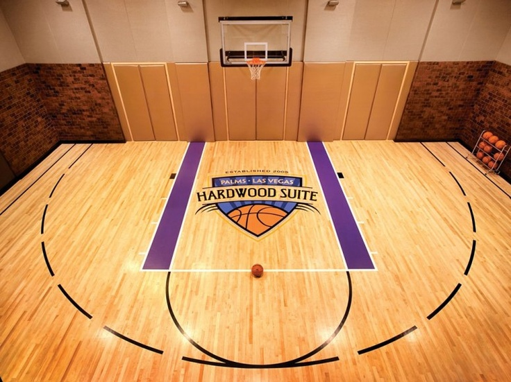 Photos of the world 39 s most over the top hotel suites for Indoor basketball court cost estimate
