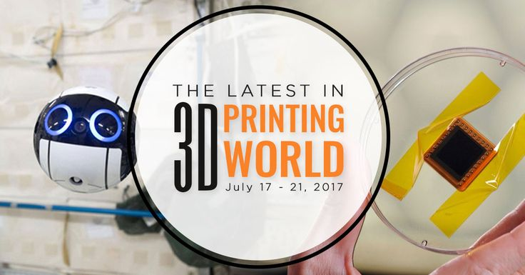 This Week in 3D Printing World: 3D Printed Space Drone, Wall Climbing Robot, Solar Cells, and More! Read the latest article in 3D2GO blog to make sure that you're always informed with the latest news and updates in the 3D printing world.