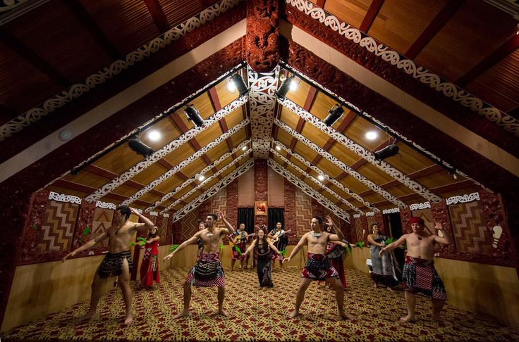 Many traditional performances take place in a wharenui or Maori meeting house