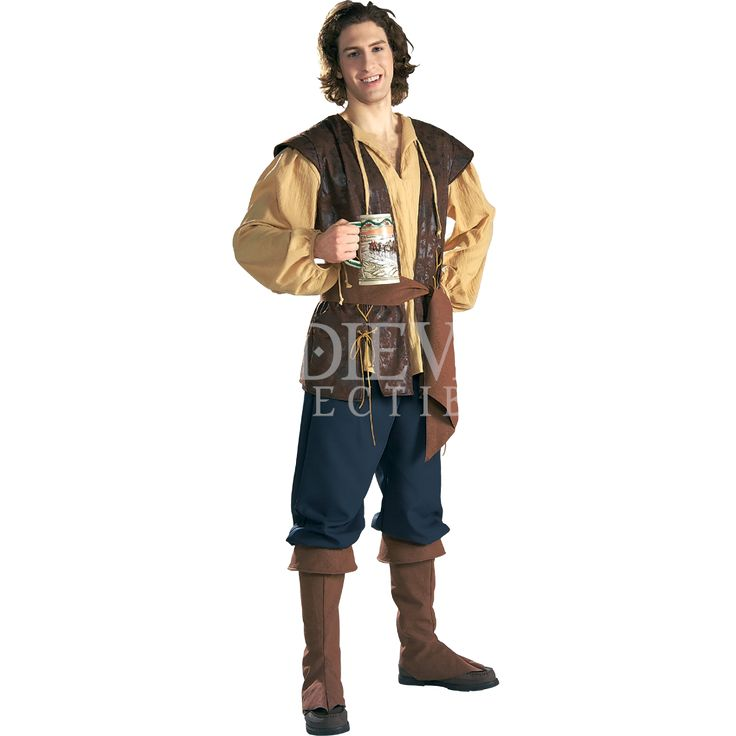 Mens Deluxe Medieval Innkeeper Costume - RC-56131 by Medieval Collectibles