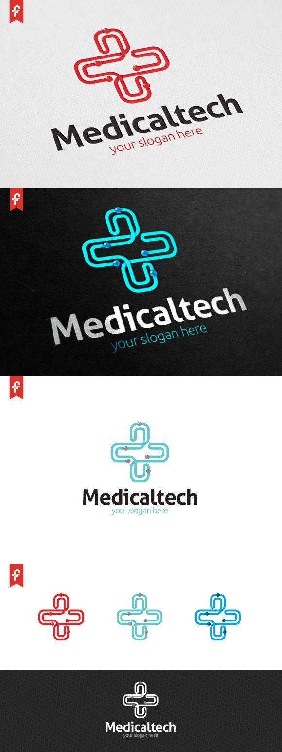 Medical Tech Logo 59 best Medical app