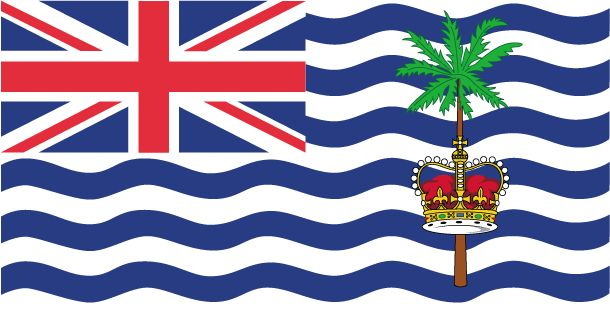 Country Flags: British Indian Ocean Territory Flag